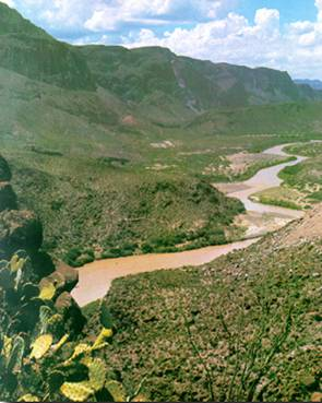 Rio Grande By Big Bend
